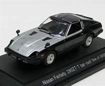 Ebbro 1980 Nissan Fairlady 280ZX Targa  Black / Silver