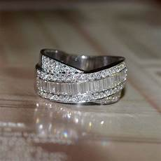 reserved and baguette cut diamond wedding band 18k