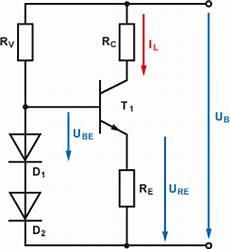konstantstromquelle einfache transistorschaltung