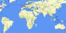 get australia when flying from australia to canada wouldn t it be