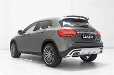 mercedes gla tuning brabus tuning program for mercedes gla includes sharper styling and more oomph carscoops