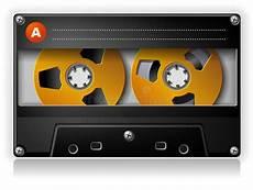 cassetta musica cassetta compatta stereo di musica analogica audio