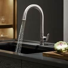 kitchen sink with faucet kohler k 72218 cp sensate touchless kitchen faucet polished chrome touchless kitchen sink