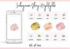 instagram story highlight icons media kit vorlage