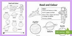 neptune planet worksheet planet read and colour worksheet worksheet space