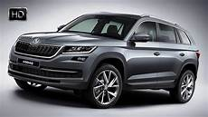 2017 Skoda Kodiaq 4x4 Suv Detailed Exterior Design