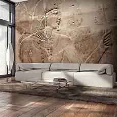 steinwand tapete wohnzimmer vlies fototapete steinwand stein 196 gypten 3d tapete