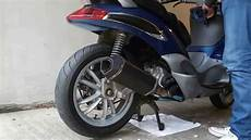 piaggio beverly 250 remus hexacone exhaust no db killer