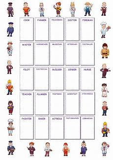 and occupations interactive worksheet