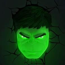 com 3dlightfx marvel avengers hulk face 3d deco light toys games hulk avengers