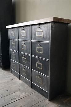 commode metal ikea ancien meuble console 12 casiers industriel a clapet roneo