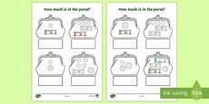 uae money worksheets for grade 2 2647 how much money in the purse activity uae fill in the blank worksheet