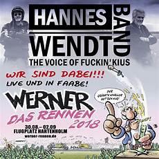 Werner Das Rennen 2018 Hannes Wendt Band