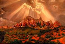 courthouse butte painting by rick fitzsimons