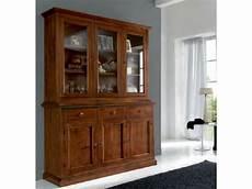 credenze con vetrina credenza con vetrinetta alzata artigianale in legno