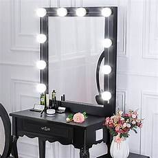 hollywood style led vanity mirror lights kit dimmable light bulbs 3000k 6000k lighting fixture