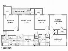 4 bedroom apartment house floor 4 bed 2 bath apartment in springfield mo palm