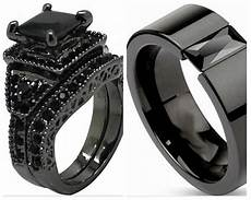 2018 sz 5 15 black wedding engagement ring band princess cut crystal cz onyx halo bridal