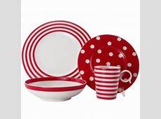 Red Polka Dot Dinnerware   Let's Set The Table   Pinterest