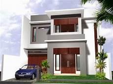Tak Depan Rumah Minimalis 2 Lantai Lebar 6 Meter