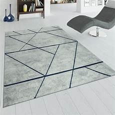 teppich blau grau kurzflor teppich marmor design grau blau teppich de