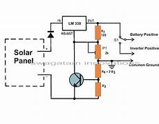 build a solar panel voltage regulator charger circuit at home