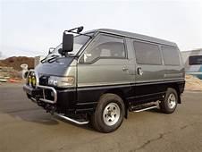 1991 MITSUBISHI DELICA MINIVAN AWD 4X4 SYNCRO 25L TURBO