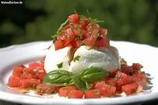 Mozzarella Mit Melonen Salsa