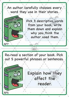 teacher s pet ks2 reading challenge cards pack 1 premium printable classroom activities