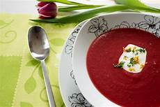 rote bete suppe rote bete suppe mit orange stadt land food