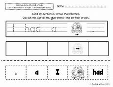 sight word sentence builder worksheets by sparking a love