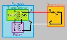 gas furnace wiring diagram 2wire hvac how can i add a quot c quot wire to my thermostat home improvement stack exchange