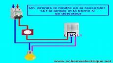 branchement detecteur de mouvement 5825 schema branchement cablage detecteur de mouvement avec interrupteur