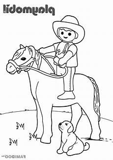 playmobil cowboy ausmalbilder zeichnen und f 228 rben