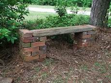 Brick Bench We Could A Lot Of These Looks Easy Used