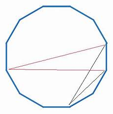 combinatorics in a regular 12 sided polygon how many triangles can be formed using vertices