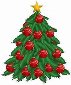 tree with ornaments png clipart