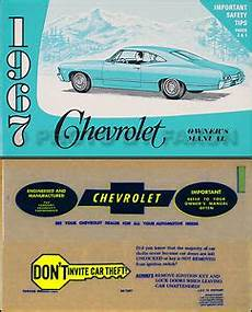manual repair free 1967 chevrolet bel air security system 1967 chevy owner manual with envelope impala ss caprice bel air biscayne owner ebay