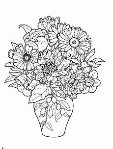 Malvorlage Blumen In Vase Beautiful Flower Vase Flower Coloring Pages Coloring Pages