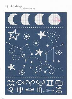 free cross stitch patterns stars free constellation cross stitch pattern big dipper little dipper moon and shooting stars