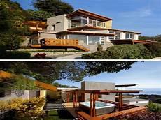 Haus Hanglage Modern - modern hillside house plans zion