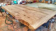 How To Make A Table From A Tree Log