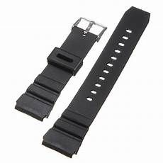 Replacement Black Rubber Band by 18mm Black Rubber Replacement Wrist Band
