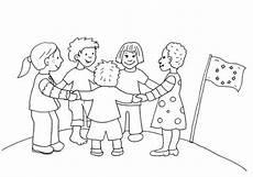 kostenlose malvorlage kinder aus aller welt kinder in