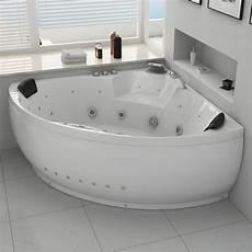 baignoire balneo 2 places baignoire d angle baln 233 o 2 places california 2 baignoire
