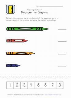 crayon measurement printable preschool school rules routines pinterest measurement