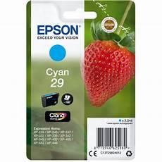 cartouche epson 29 fraise epson fraise 29 cyan cartouche imprimante epson sur ldlc