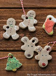 Easy Salt Dough Ornaments Craft For