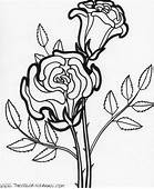 Coloring Pages Worksheets Simple Flower