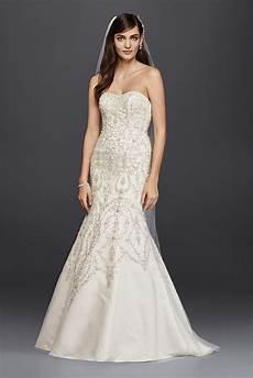 wedding dre wedding dress oleg cassini tulle and crystal mermaid wedding dre style cwg706 ebay